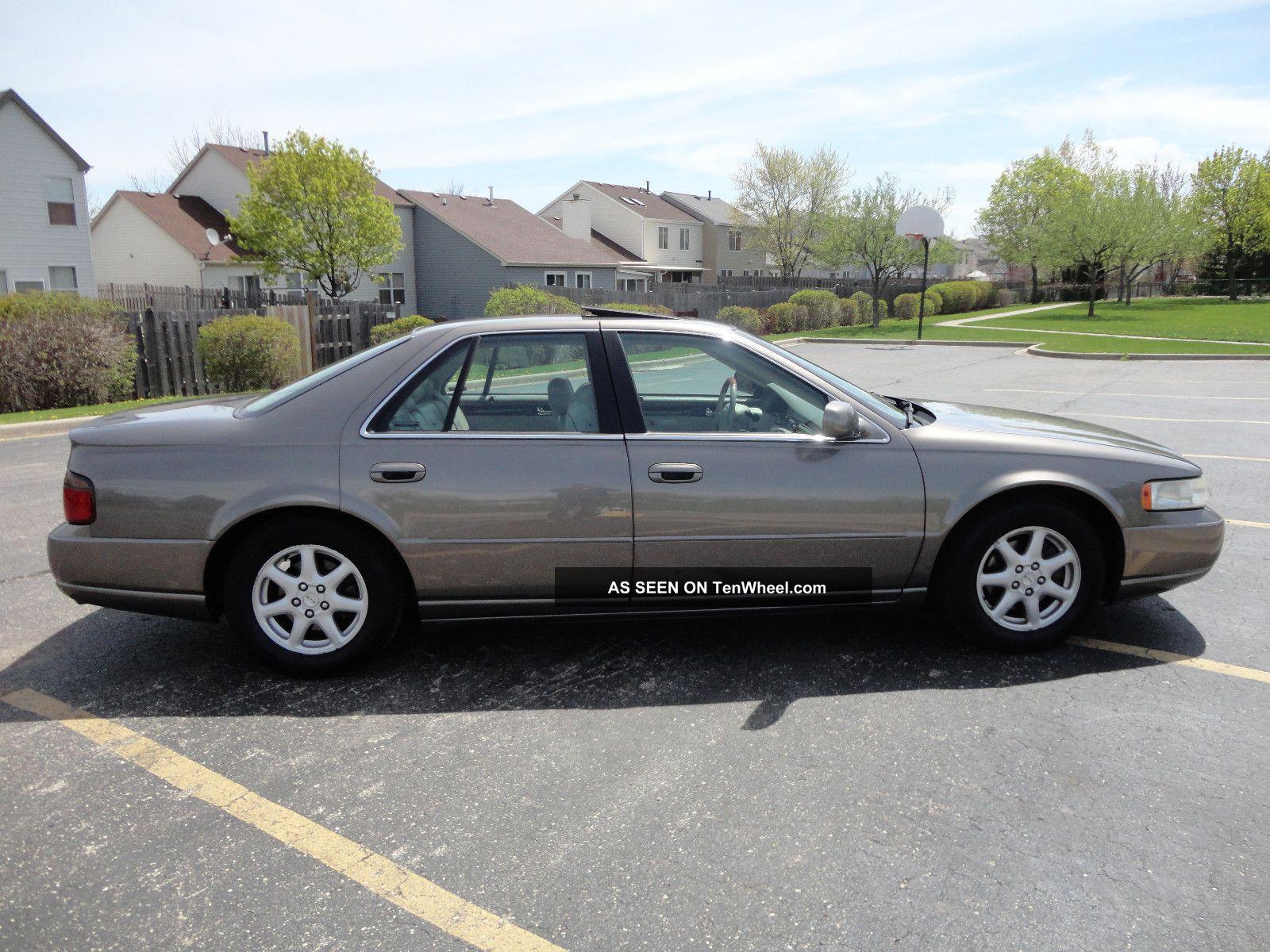1999 Cadillac Seville Sts Sedan 4 Door 4 6l