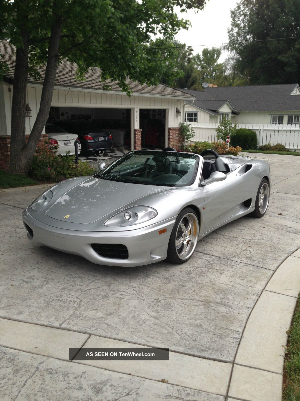 2003 Ferrari 360 Spider Convertible 2 - Door 3.  6l 360 photo