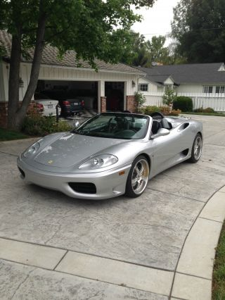 2003 Ferrari 360 Spider Convertible 2 - Door 3.  6l photo
