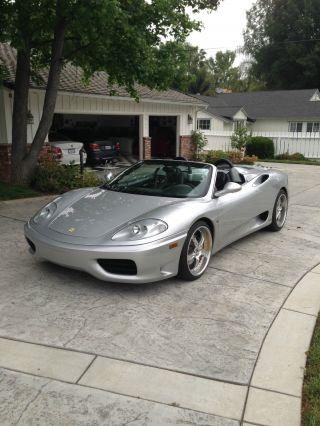 2003 Ferrari 360 Spider Convertible 2 - Door 3.  6l photo