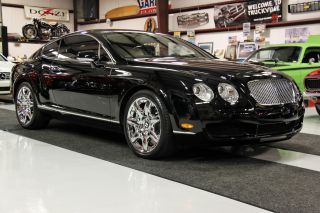 2007 Bentley Continental Gt Mulliner Coupe Under Chrome Wheels photo