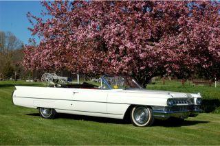 1964 Cadillac Deville Base Convertible 2 - Door 7.  0l photo