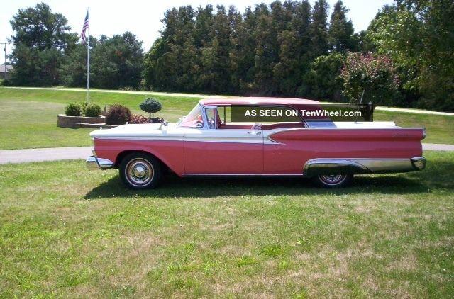1959 Ford Galaxie Fairlane 500 2 Dr.  Hardtop Galaxie photo