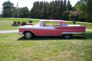 1959 Ford Galaxie Fairlane 500 2 Dr.  Hardtop photo
