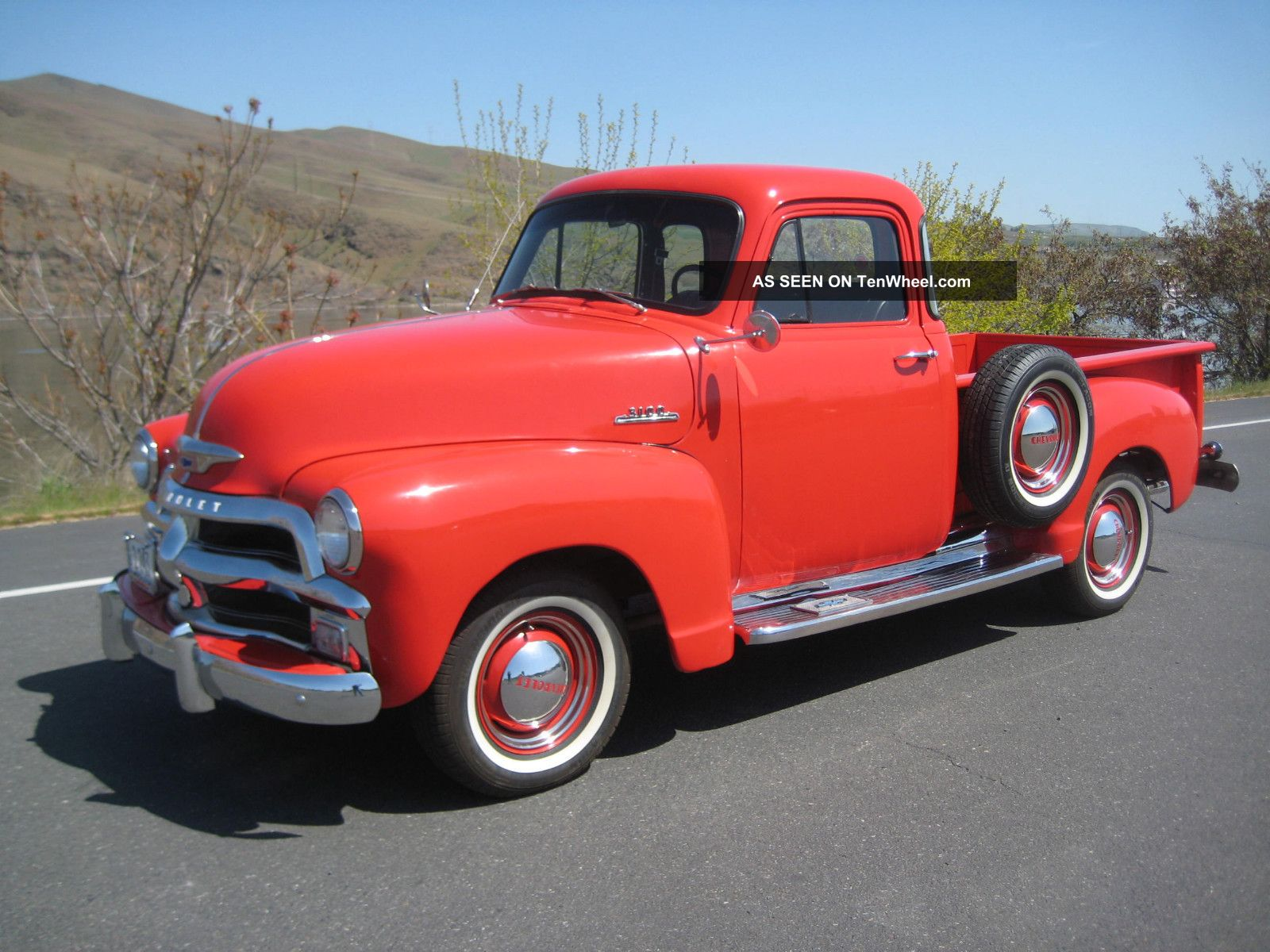 1954 Serues 3100 1 / 2 Ton Chevy With Hydra - Matic, ,  5 Window. Other Pickups photo