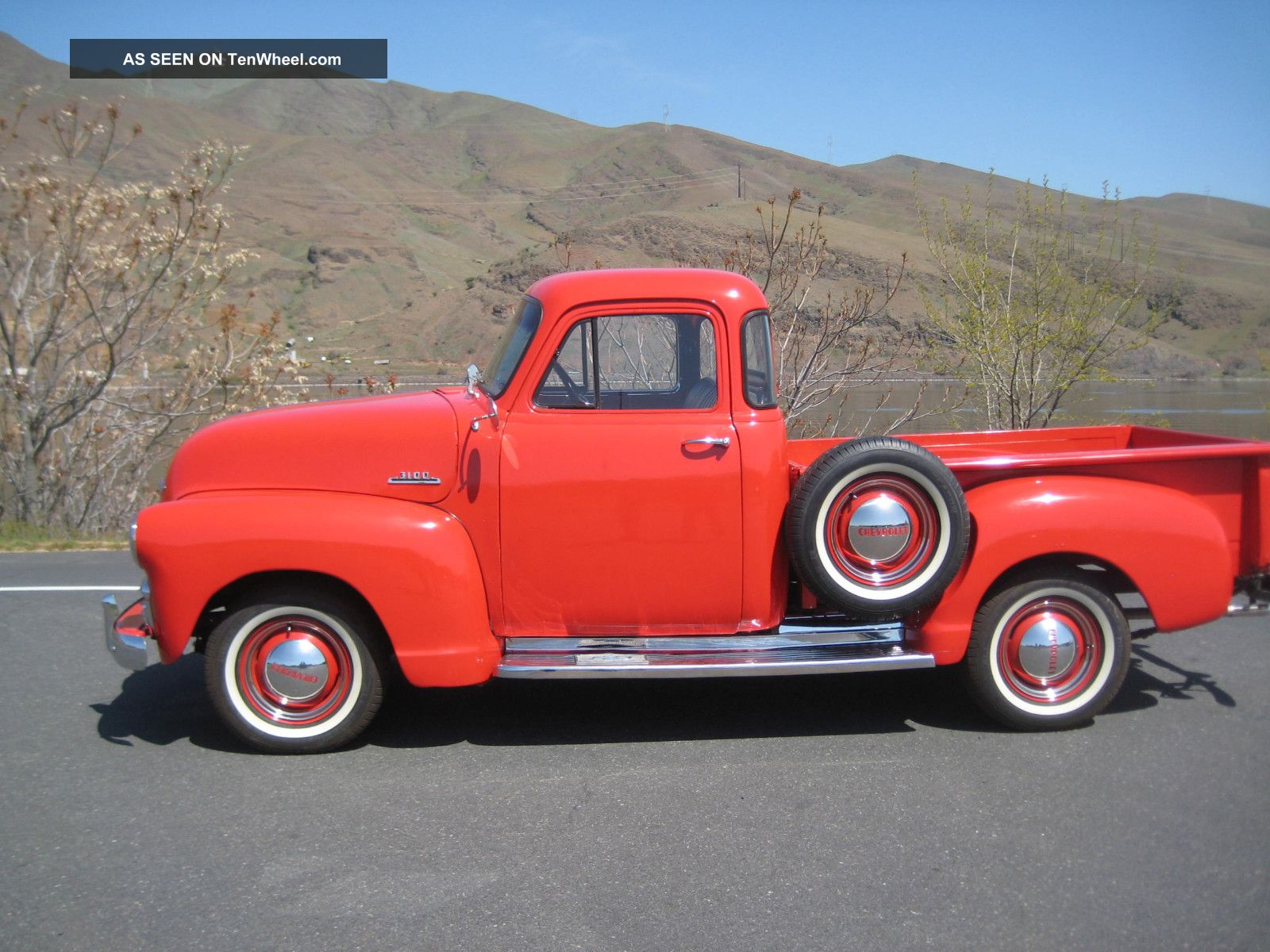1954 serues 3100 1 2 ton chevy with hydra matic 5 for 1954 chevy 5 window