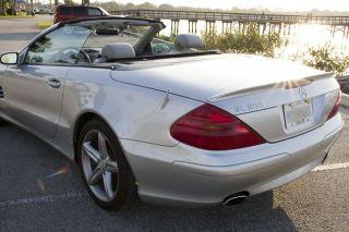 2005 Mercedes - Benz Sl500 Hardtop Convertible - photo