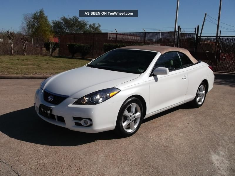 2008 toyota camry solara v6 related infomation specifications weili automotive network. Black Bedroom Furniture Sets. Home Design Ideas