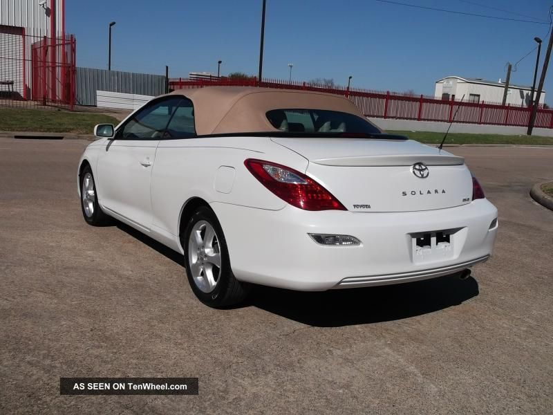 2008 toyota camry solara v6 convertible related infomation specifications weili automotive network. Black Bedroom Furniture Sets. Home Design Ideas