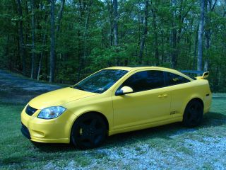 Stage 3 2005 Chevrolet Cobalt Ss Coupe Supercharged Yellow 5 Speed photo