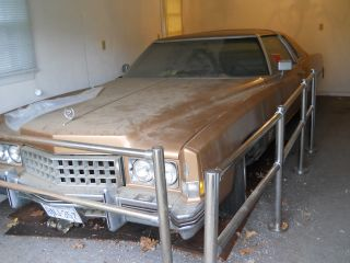 Rare Garage Find 1973 Cadillac Eldorado 500 Cid,  8.  2 L Engine Long Block photo