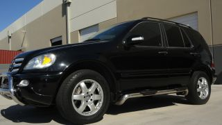 2004 Mercedes - Benz Ml500 Base Sport Utility 4 - Door 5.  0l photo