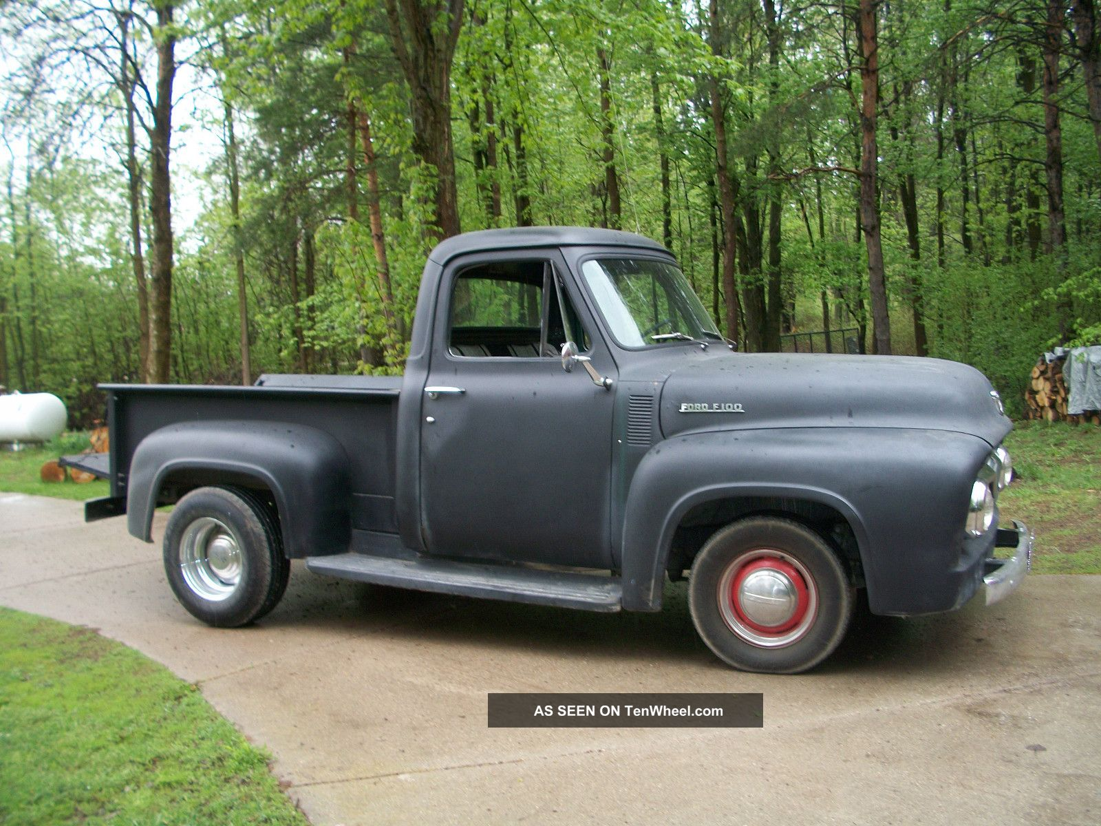 1953 f 100 ford shortbox pick up. Black Bedroom Furniture Sets. Home Design Ideas