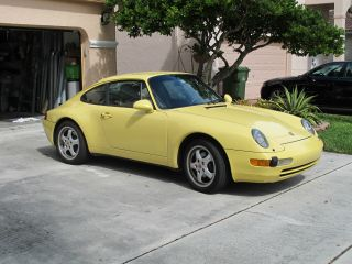 1997 Porsche 911 Carrera Coupe 2 - Door 3.  6l photo