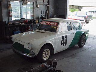 1963 Ford Anglia 105e Toyota Powered Race Car photo