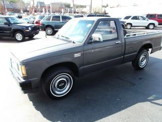 1988 Chevrolet S 10 Manual photo