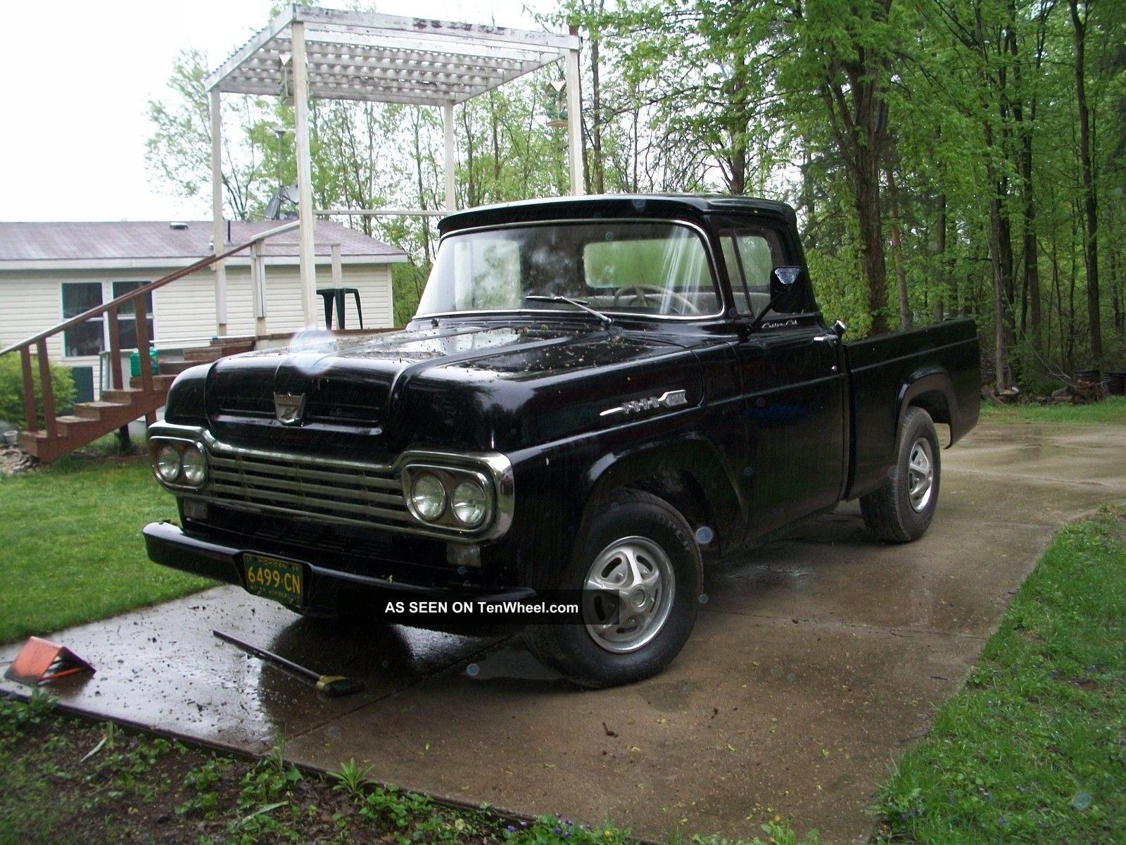 1959 ford f 100 pick up. Black Bedroom Furniture Sets. Home Design Ideas