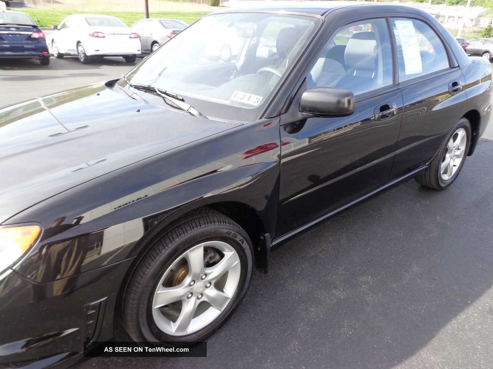 2007 subaru impreza 2 5i 4 cylinder 2 5l awd automatic 83k video. Black Bedroom Furniture Sets. Home Design Ideas