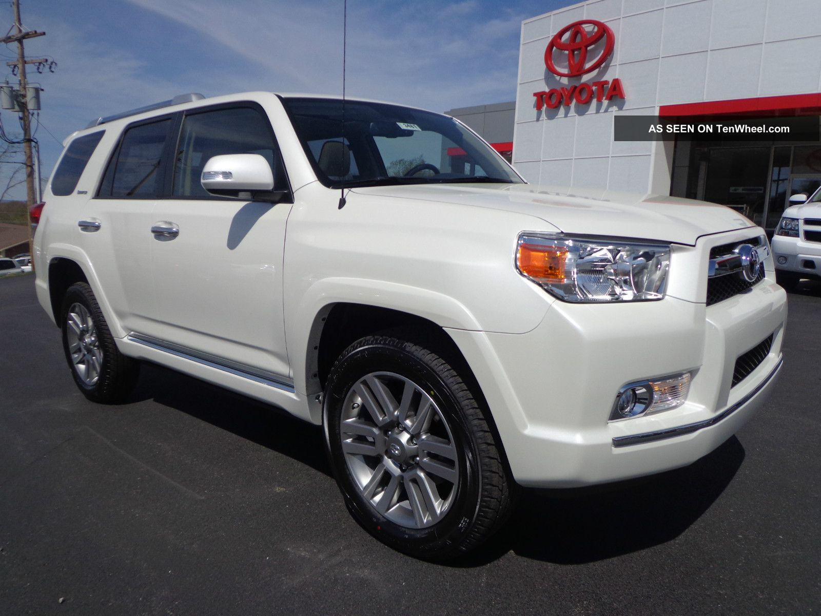 2013 4runner Limited 4wd Rear Camera 4x4