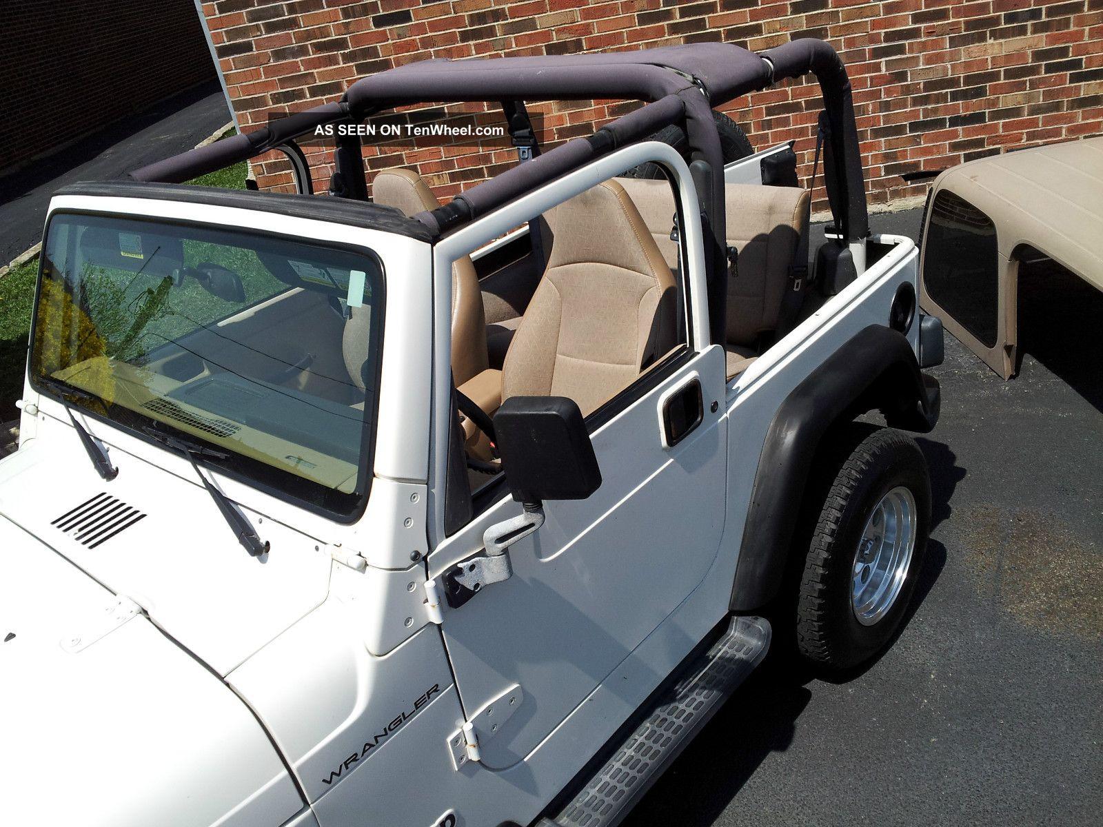 jeep wrangler se sport utility  door   manual