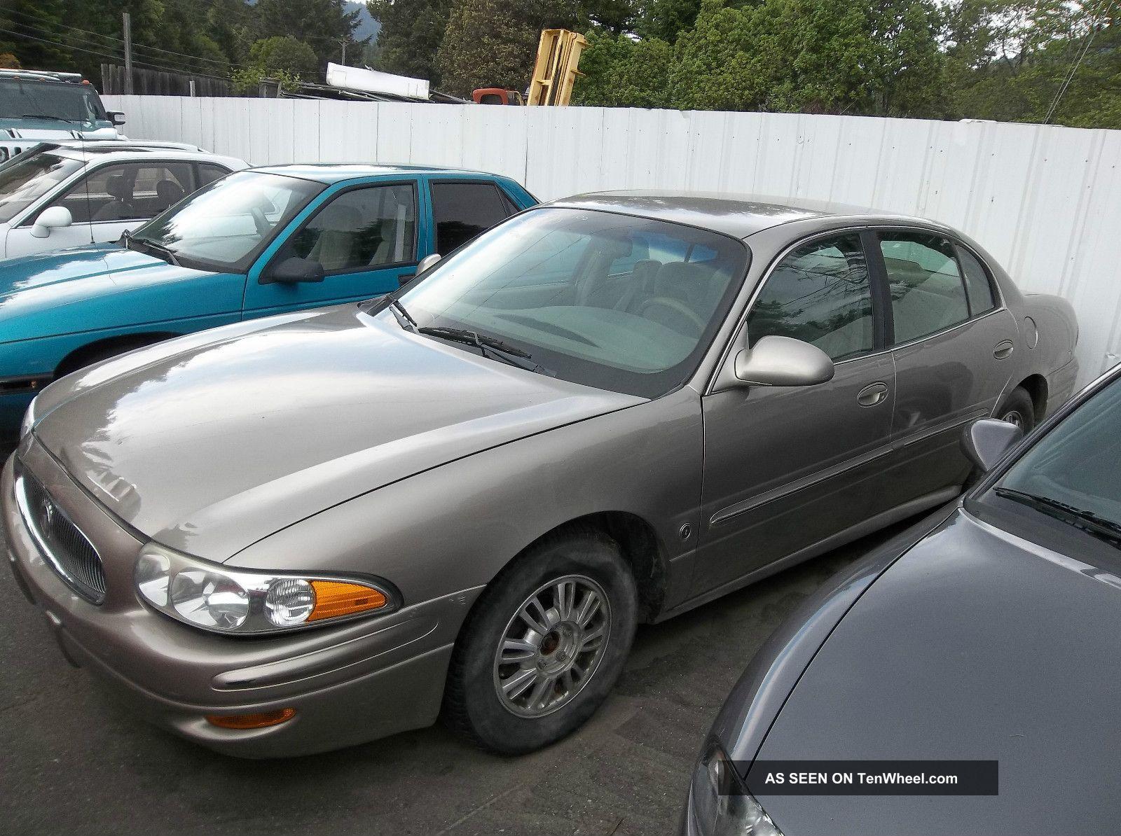 2003 Buick Lesabre Custom Sedan 4 - Door 3.  8l LeSabre photo