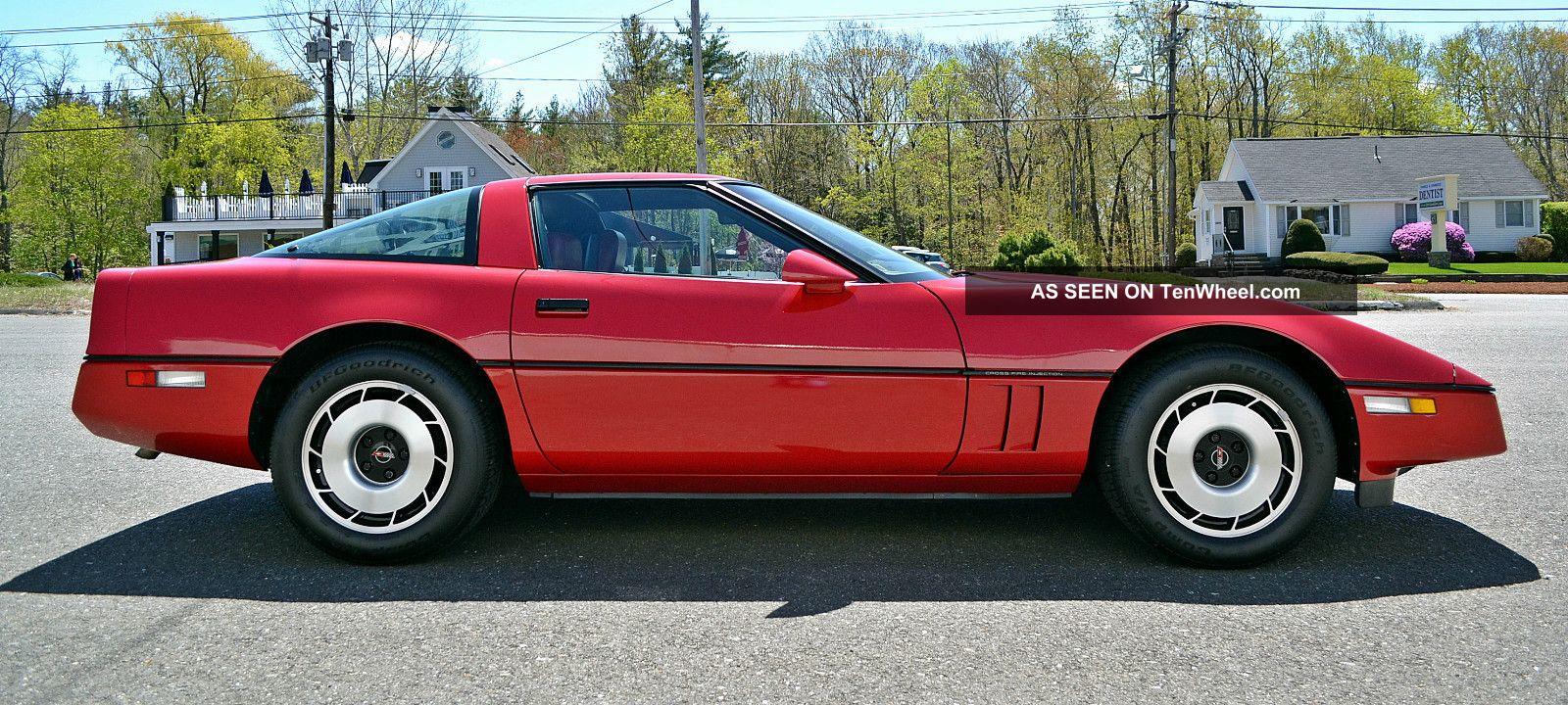 1984 chevrolet corvette. Black Bedroom Furniture Sets. Home Design Ideas