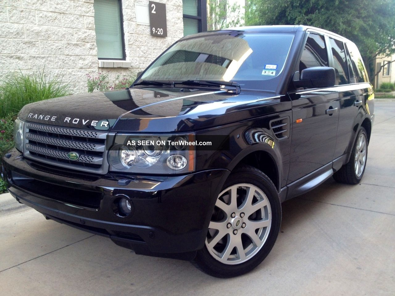 2007 land rover range rover sport hse sport utility 4 door 4 4l. Black Bedroom Furniture Sets. Home Design Ideas