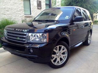 2007 Land Rover Range Rover Sport Hse Sport Utility 4 - Door 4.  4l photo