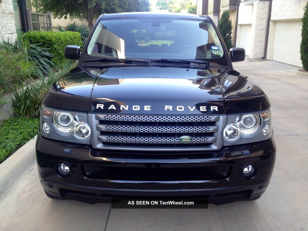 2007 land rover range rover sport hse sport utility 4 door 4 4l. Black Bedroom Furniture Sets. Home Design Ideas