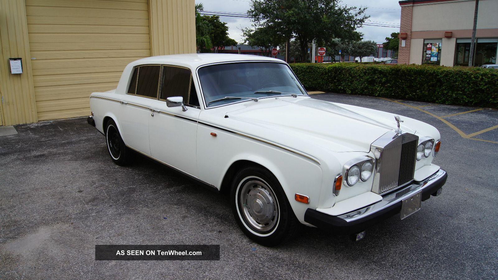 1979 Rolls - Royce Silver Shadow Ii White Silver Shadow photo