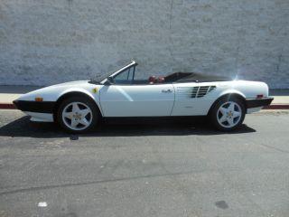1985 Ferrari Modial Cabriolet photo