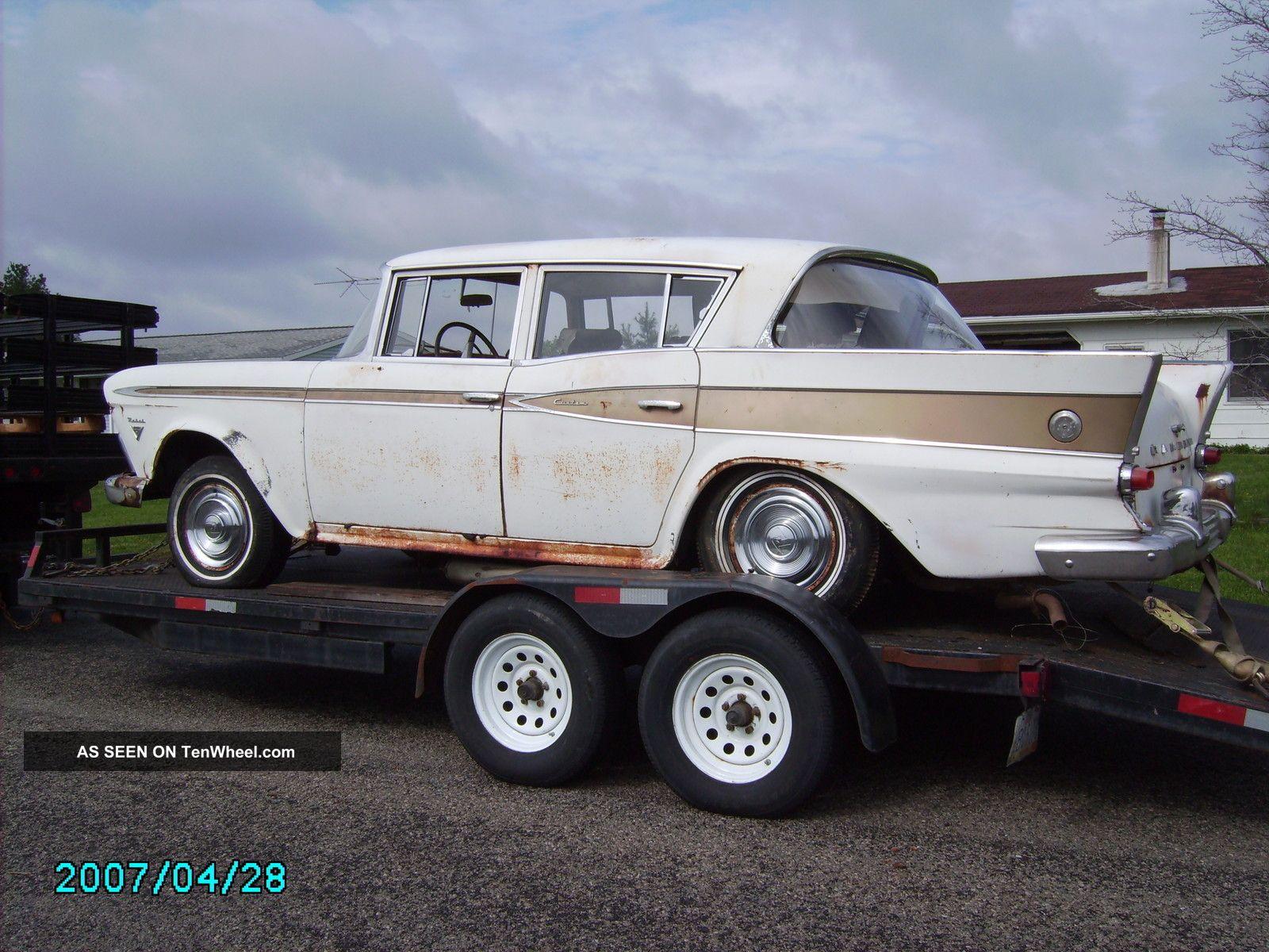 1959 Rambler Rebel Custom AMC photo