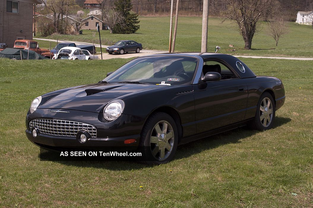 2002 ford thunderbird base convertible 2 door 3 9l. Cars Review. Best American Auto & Cars Review