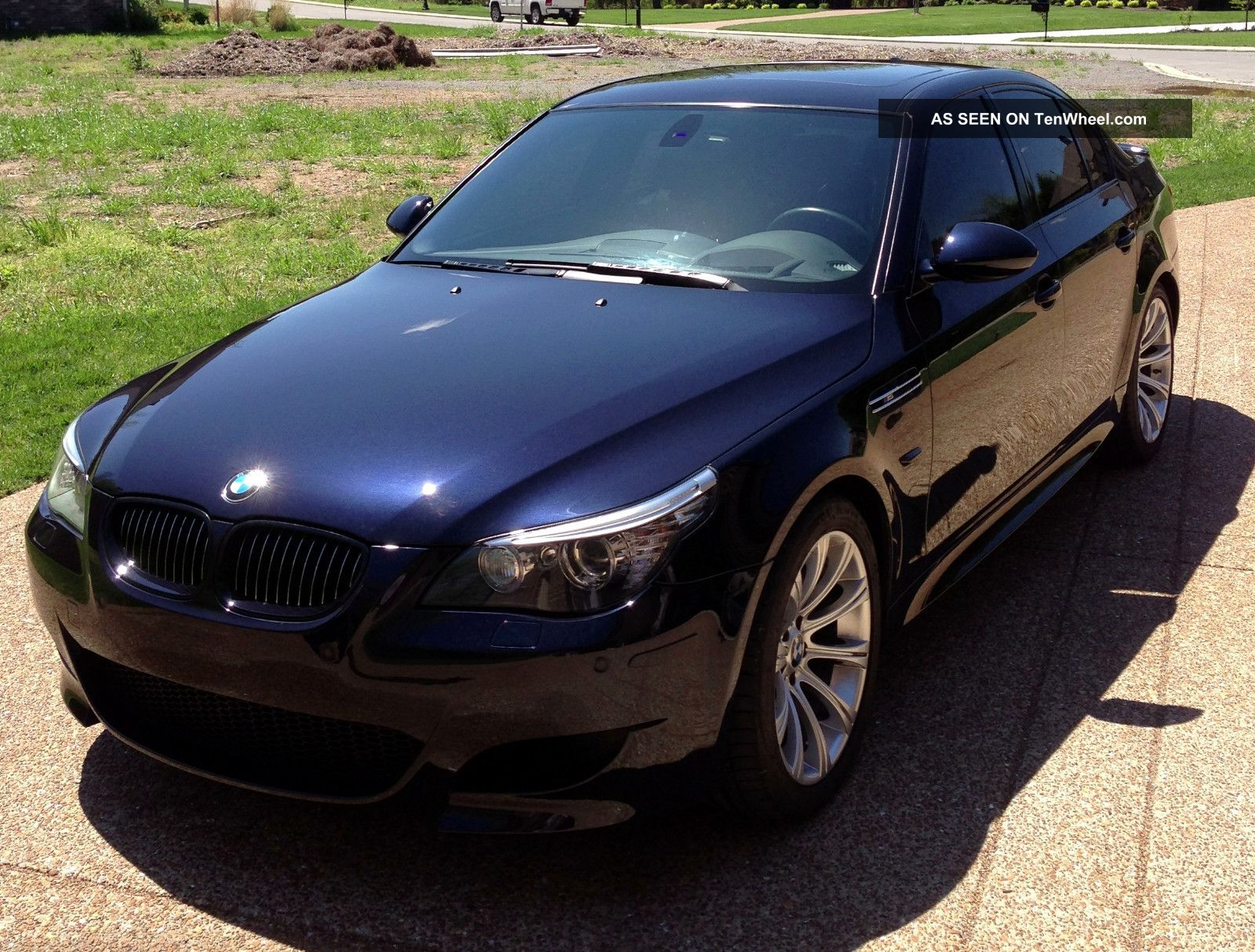 2010 Bmw M5 Base Sedan 4 Door 5 0l V 10 Carbon Black