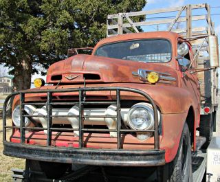 1952 F3 Ford Pickup With Flathead V8 photo