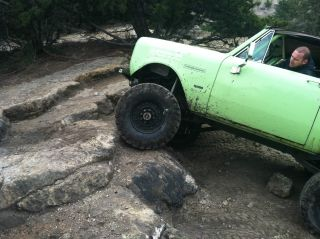 1980 Scout Ii,  W / 6.  5l Chevy Diesel And 1ton Axles,  Rock Ready photo