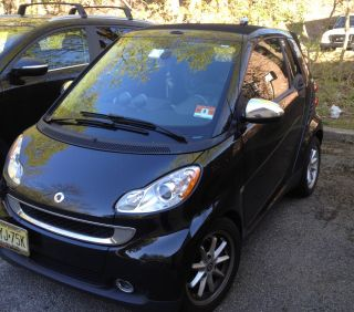 2008 Smart Fortwo Passion Cabrio Convertible 2 - Door 1.  0l photo