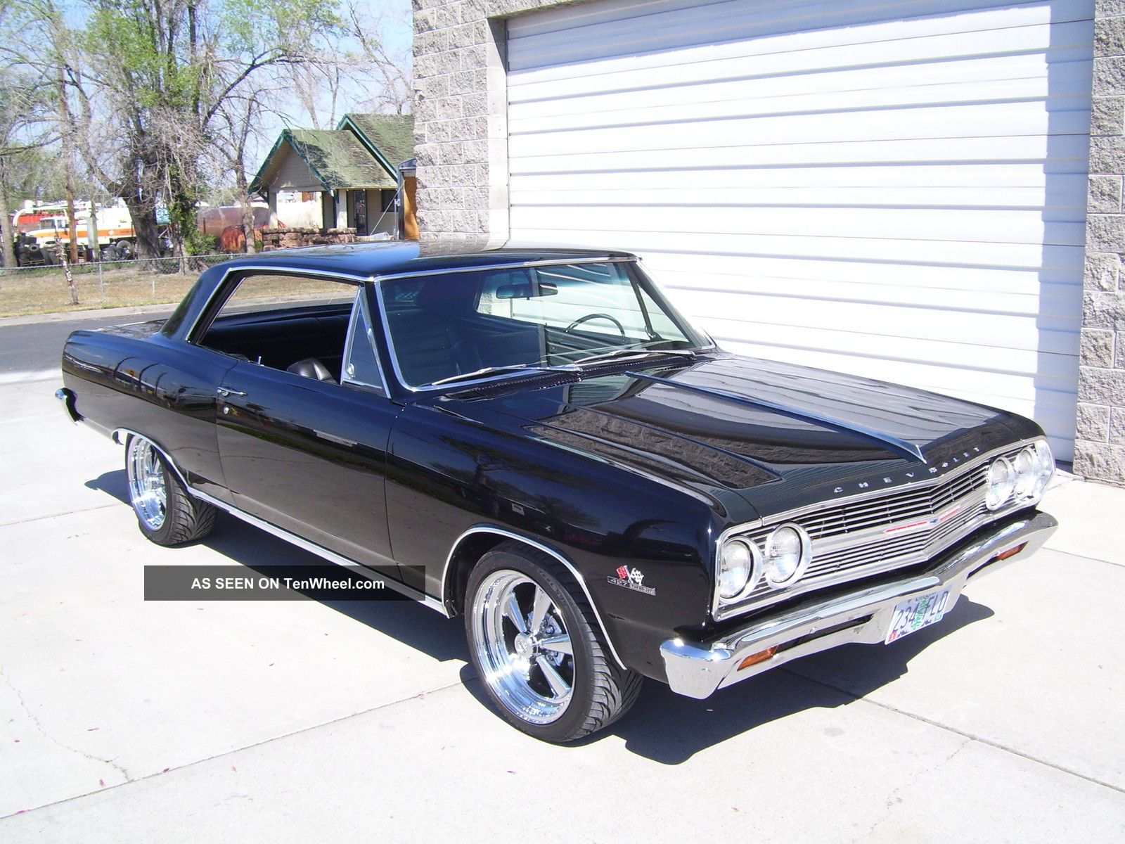 1965 Chevelle Hardtop W Ss Touches Big Block