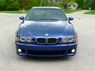2002 Bmw M5 Base Sedan 4 - Door 5.  0l photo