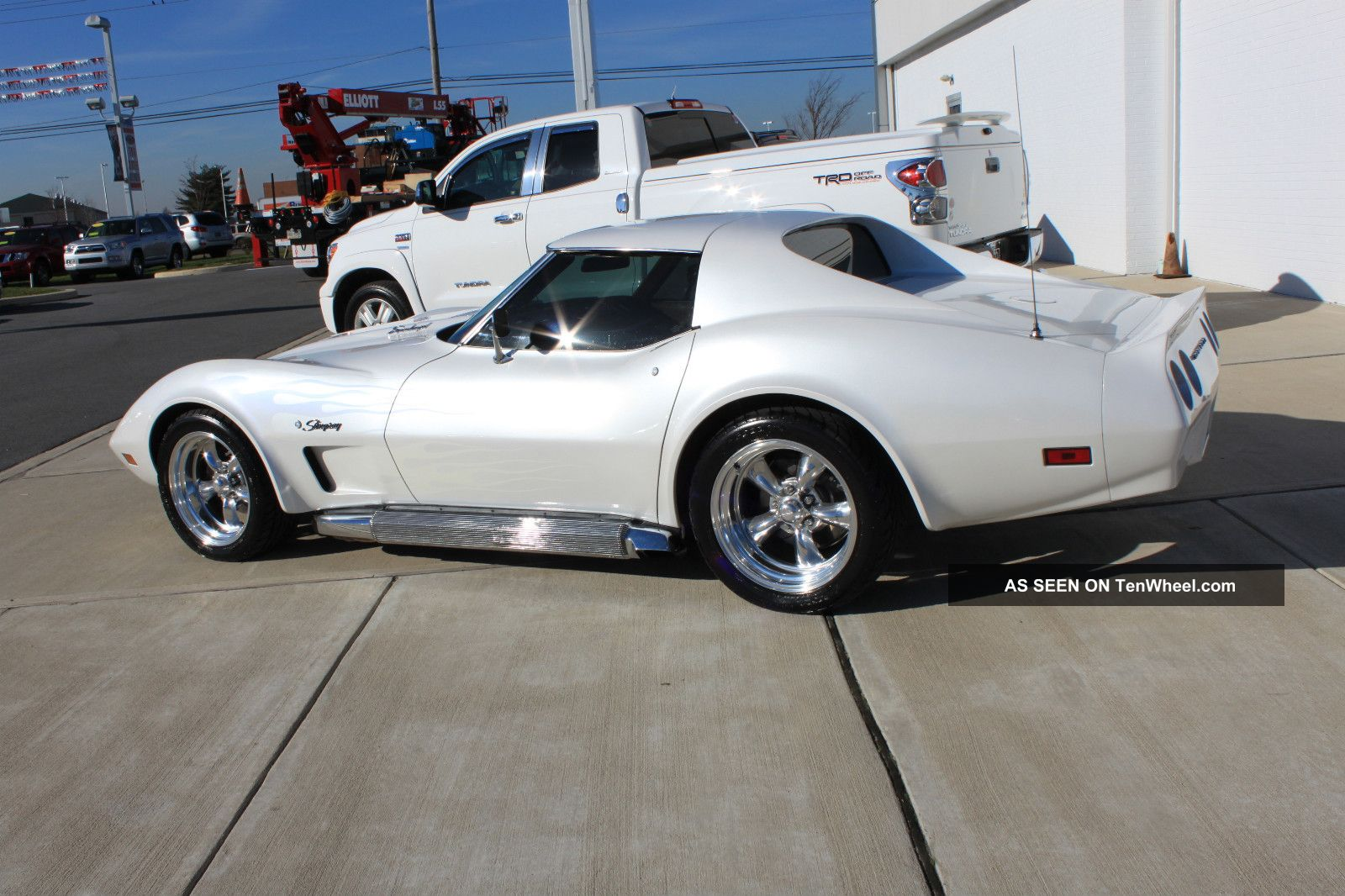 Incredible Paint And Body 1974 Quot Pro Touring Quot Corvette