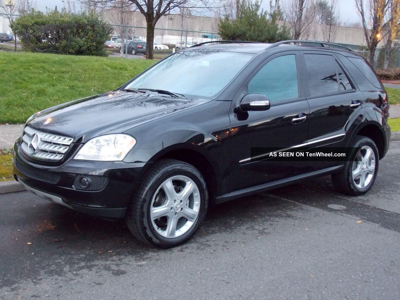 2008 mercedes benz ml320 cdi sport utility 4 door 3 0l for Mercedes benz ml320 cdi