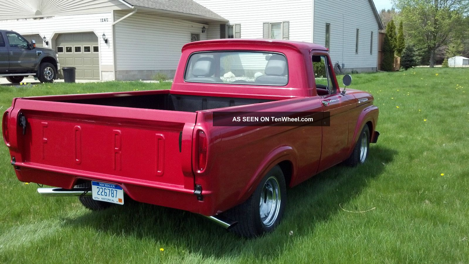 1961 ford f100 unibody classic antique rare vintage pick. Black Bedroom Furniture Sets. Home Design Ideas