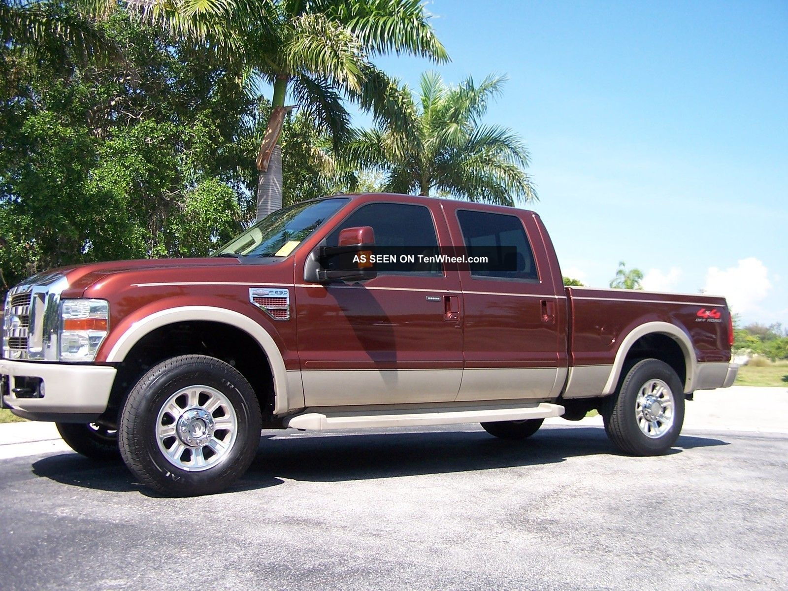 2008 Ford F 250 King Ranch Crew Cab 4x4 Florida Truck
