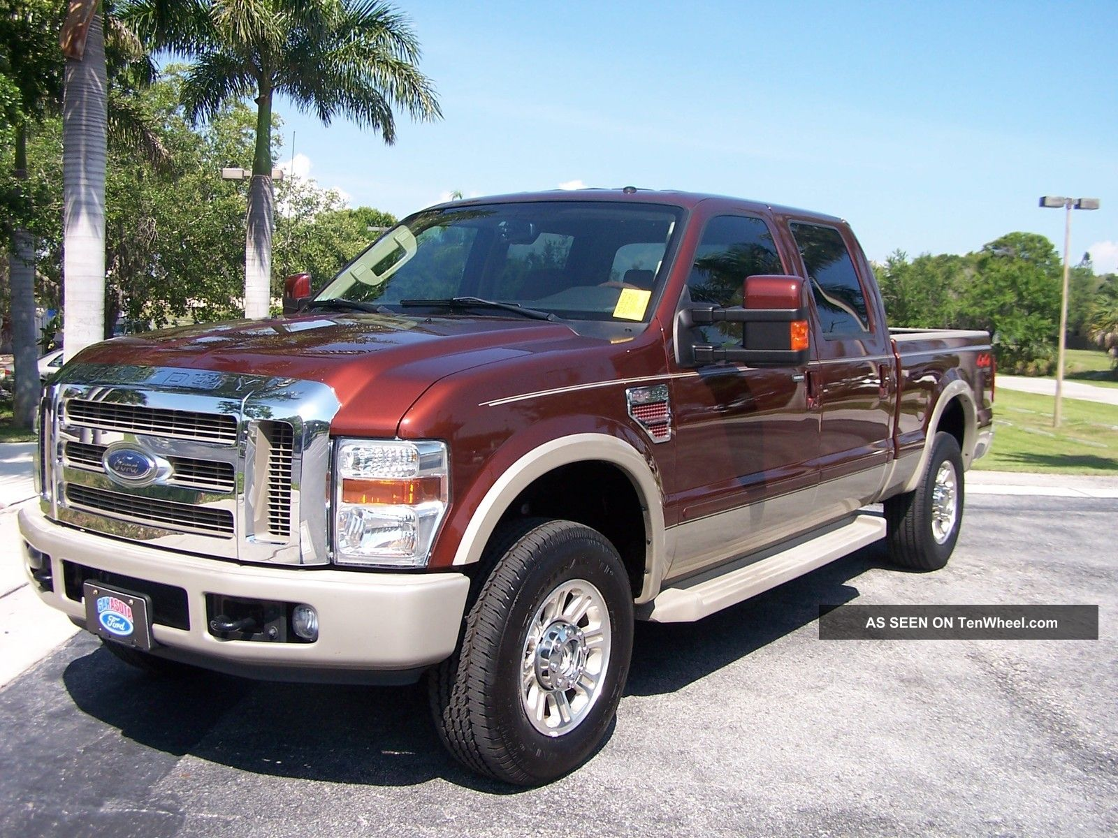 2008 ford f 250 king ranch crew cab 4x4 florida truck. Black Bedroom Furniture Sets. Home Design Ideas