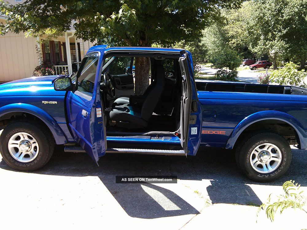 2003 Ford Ranger Edge 4 Door Supercab V6 Automatic