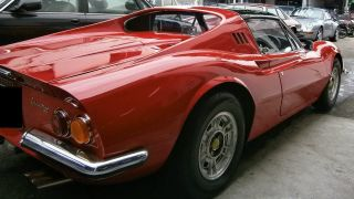 1974 Rhd Ferrari Dino 246 Gts Base 2.  4l photo