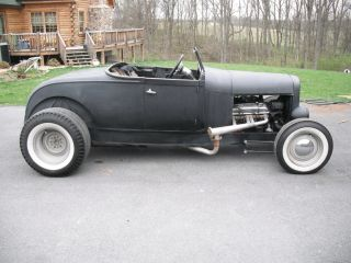1929 Ford Roadster,  Orig Steel Body,  32 Frame,  350,  Auto,  Ratrod photo