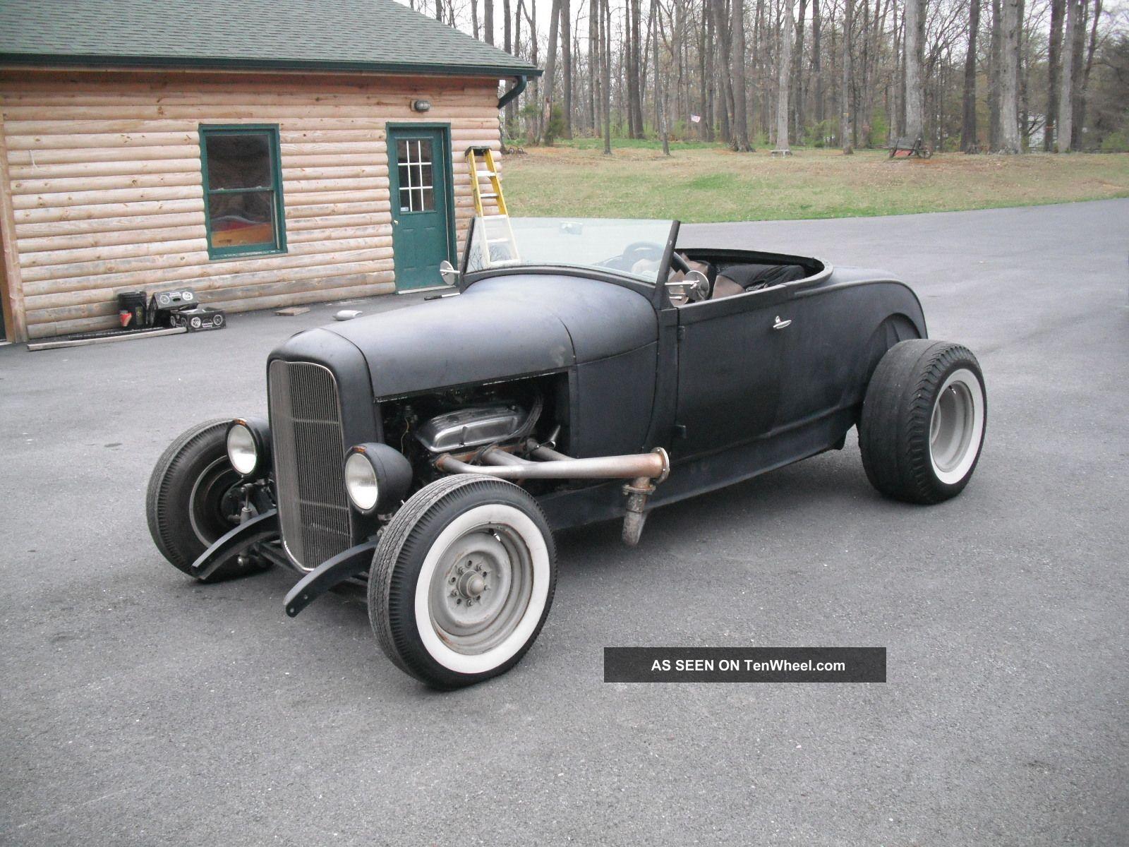 1929 Ford Roadster, Orig Steel Body, 32 Frame, 350, Auto, Ratrod