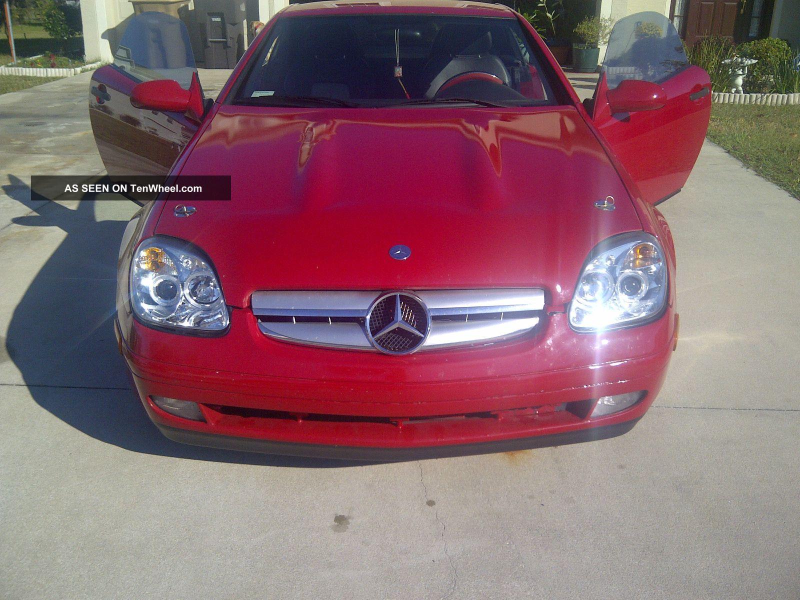 1998 Mercedes - Benz Slk230 Kompressor Convertible 2 - Door 2.  3l SLK-Class photo