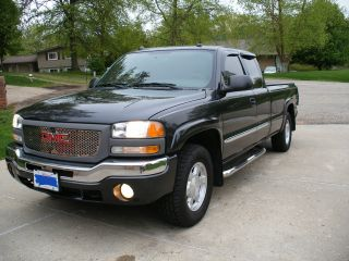 2004 Gmc Sierra 1500 Sle Extended Cab,  4x4, , ,  4 Doors photo